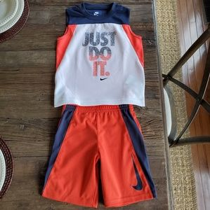 Nike Boys Tank/Shorts Set NWOT